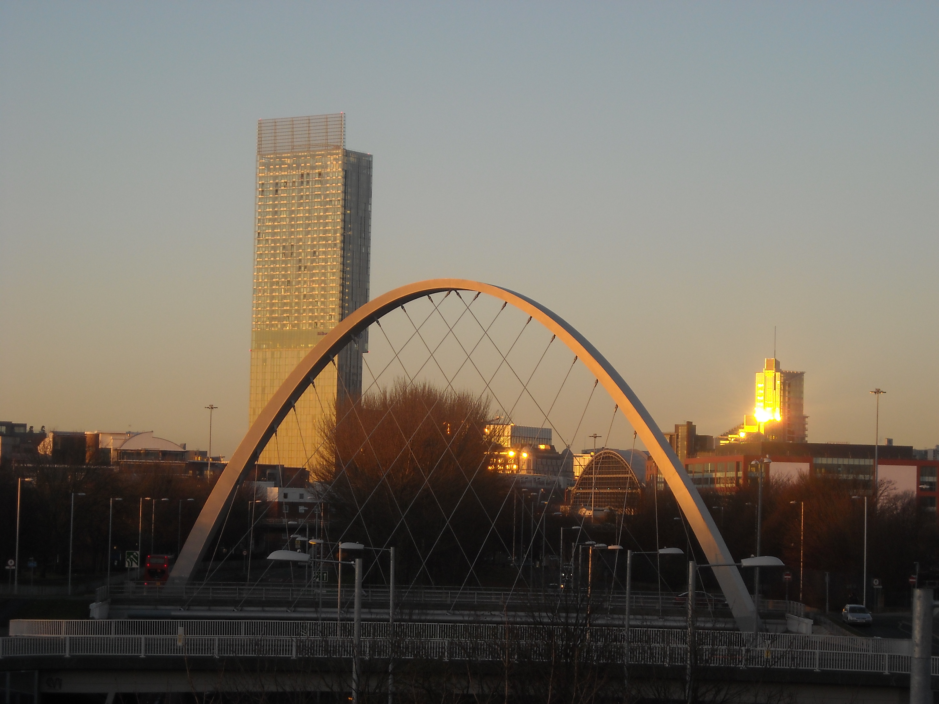 Hulme_Arch_Beetham_in_sunset